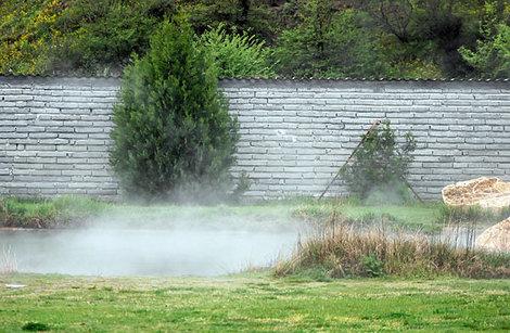 Минеральный источник в местечке Рупите, Болгария