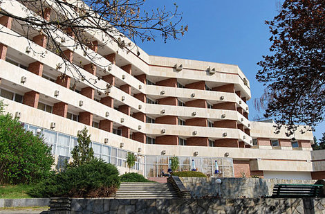 Spa Hotel Hissar 4* расположился в обновленном здании бывшего санатория, курорт Хисаря