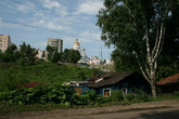 Ветхие домишки на старой улице Саранской скоро будут стерты с лица земли.