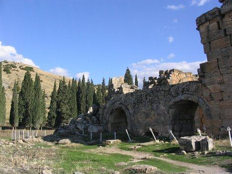 Развалины Иераполя