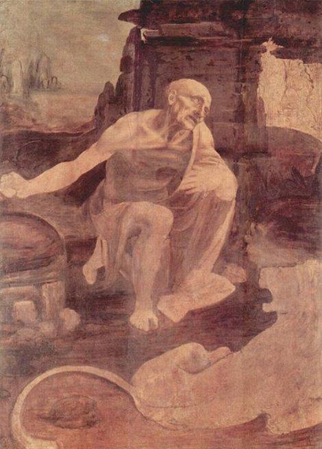 Леонардо, Святой Иероним