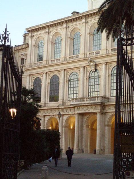 Фасад Палаццо Барберини