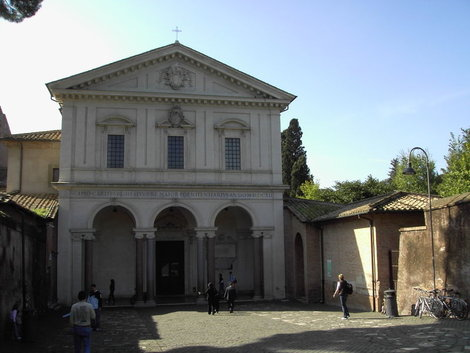 Церковь Сан Себастьян фуори ле Мура