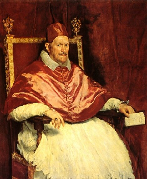 Папа Иннокентий Веласкеса