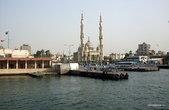Порт-Саид. Вид на Суэцкий канал и мечеть Порт-Фуада