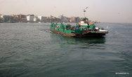 Порт-Саид. Паром через Суэцкий канал