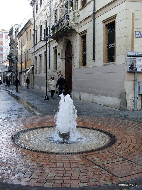 Падуя. Городской фонтан