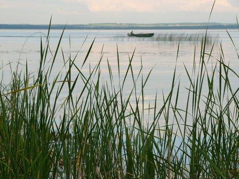 Вечер на озере Неро