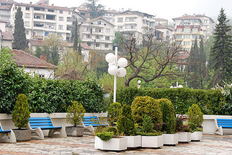 Курортный город Сандански, Болгария