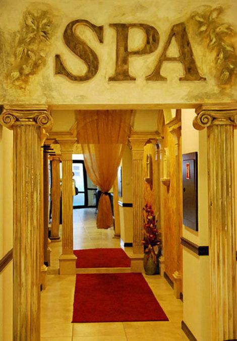 Spa-центр в Grand Hotel Velingrad
