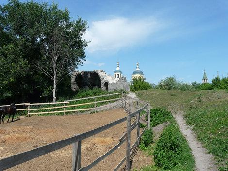 Серпухов, городские укрепления