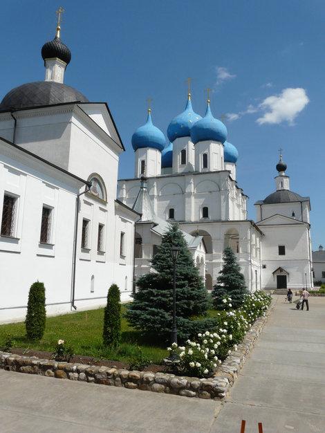 Монастырь в Секрпухове