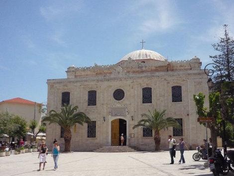 Православная церковь — вместо турецкой мечети, Ираклион