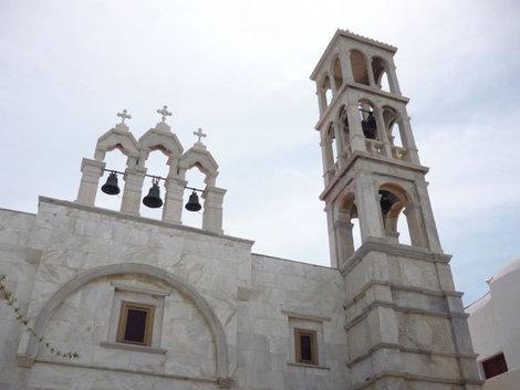Монастырь в Ано-Мера на острове Миконос