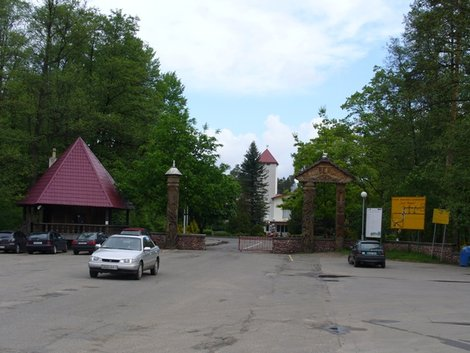 03. Вход в Беловежскую пущу