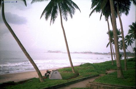 Атлантический океан, западная Африка.