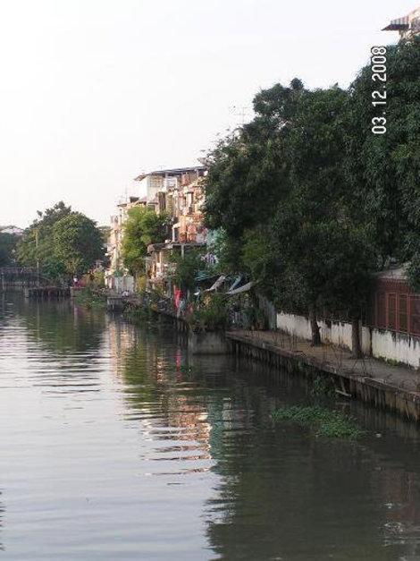 На берегу одного из каналов