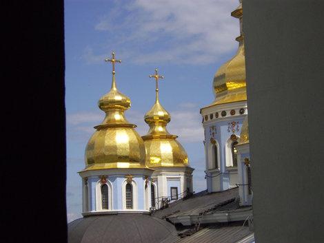 Михайловский собор с колокольни