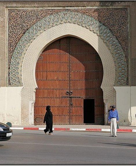 Мекнес, ворота Баб эль Мансур