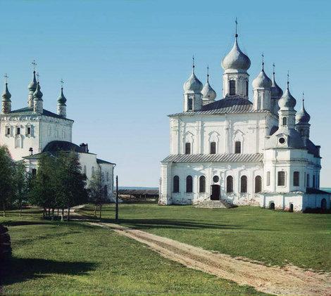Прокудин-Горский. Переславль-Залесский, Успенский собор Горицкого монастыря