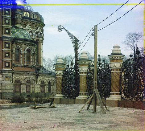 Прокудин-Горский. Санкт-Петербург, храм Спаса на Крови