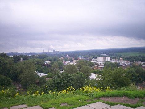 Владимир-2008, вид от Успенского собора.
