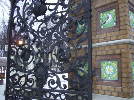 Санкт-Петербург-2009,решетка Михайловского сада у Храма Спаса на Крови