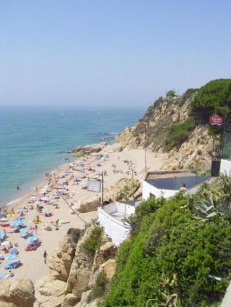 Испания Нудистский пляж Калелья