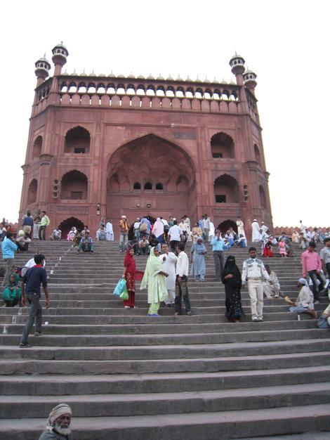 Дели. Пятничная мечеть Джама Масджит