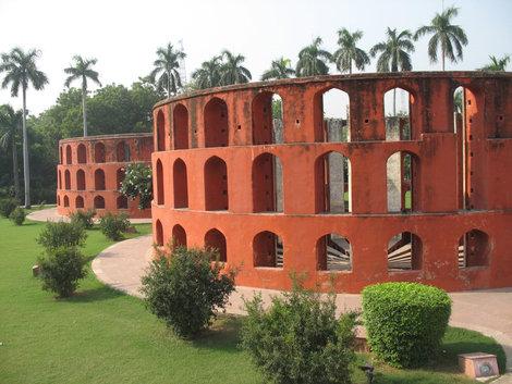 Дели. Обсерватория Джантар-Мантар. Ram Jantra