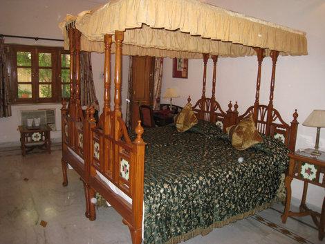 Джайпур. Номер в отеле  «Madhuban»