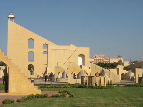 Джайпурская обсрватория Джантар-Мантар