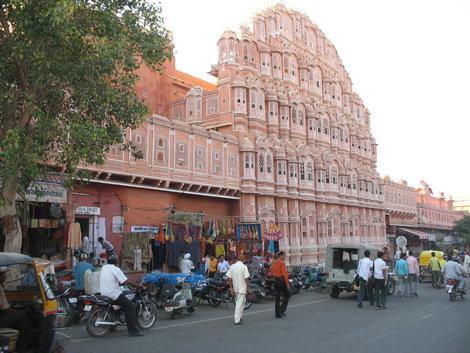 Джайпур. Дворец ветров (Хава Махал, Hawa Mahal)