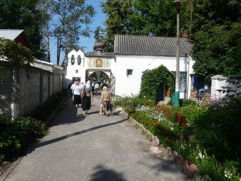 Ворота монастыря (Куровское)