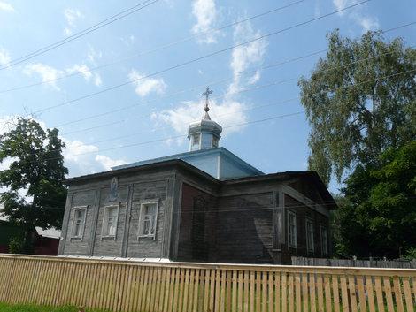 Спас-Клепики, деревянный храм