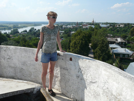 На минарете — смотрю на Касимов