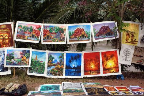Картины местных художников
