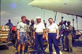 Ангольские десантники и наш Ил-86. Летим в Луанду.