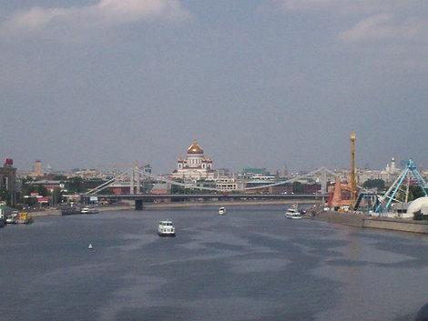 Вид с Андреевского моста