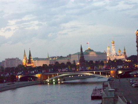 Вид с Патриаршего моста