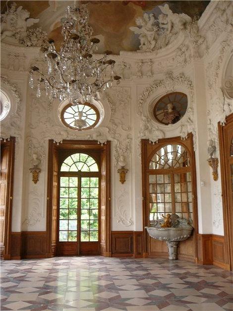 Парадный зал Баденбурга