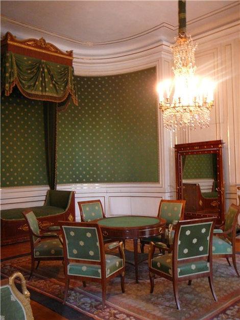 Спальня, где родился Людвиг II