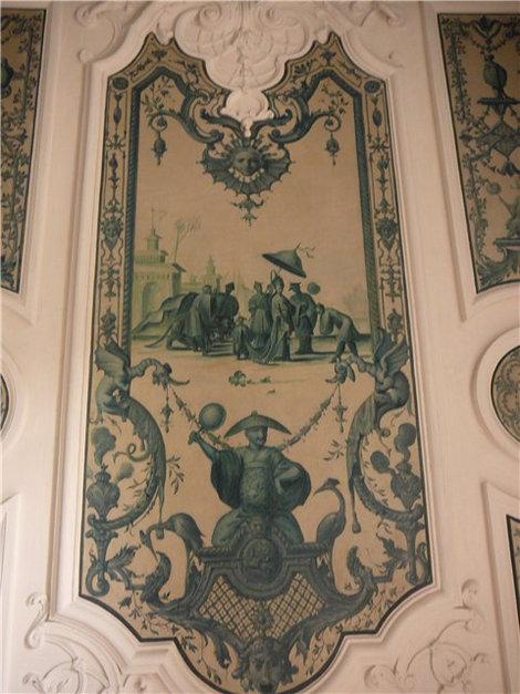 Двери в китайском стиле(Пагоденбург)