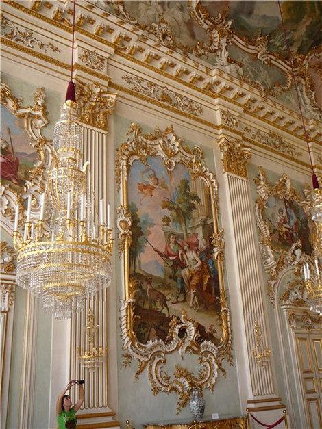 Парадный зал(Нимфенбург)