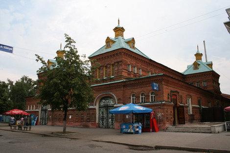 На Московской сохранилось много интересных старинных зданий. Пенза, Россия