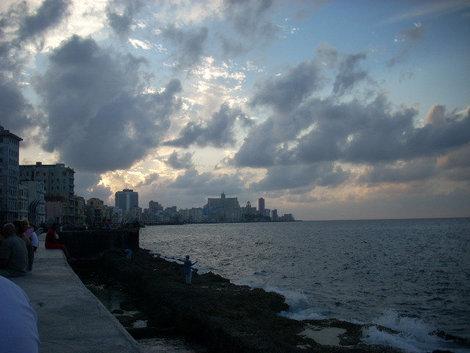 Гавана набережная Малекон