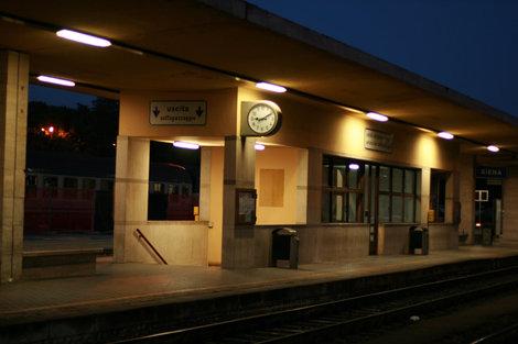вокзал в Сиене
