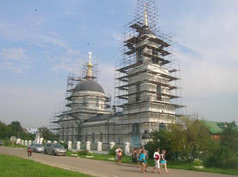 Преображенская церковь в селе Радонеж