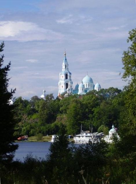 Главный ансамбль Спасо-Преображенского монастыря.