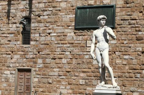 Давид на площади Синьории
